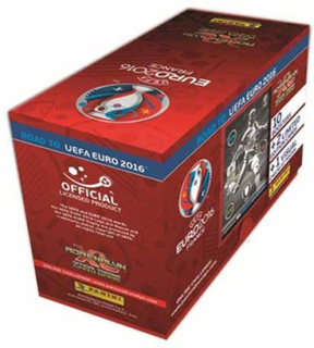 Fotbollsbilder Fotbollskort - Giftbox - Panini Adrenalyn XL Road to Euro 2016