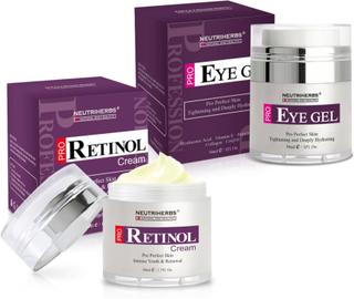 Neutriherbs PRO Retinol Face Cream & Eye Gel Kit (Typ av köp: En gång (ej prenumeration))