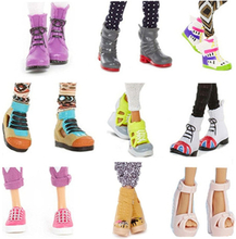 Original Princess Doll Shoes for MC2 Dolls Accessories Children's Toy Women's High Heel Flat Shoes Boots Style for Girls