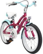 BIKESTAR® Premium Design Lasten polkupyörä 16'', violetti - liila