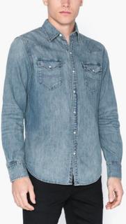 Polo Ralph Lauren Icon Western Shirt Skjorter Blue