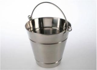Ved/ Bastuhink 12 Liter, Rostfri