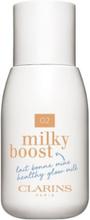Clarins Milky Boost 50ml Foundation 02 Milky Nude