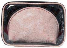 W7 Laced PU Cosmetic Bag Set 2 stk
