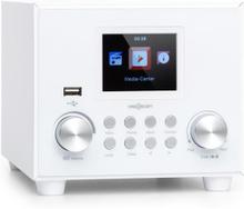 auna Streamo Cube internetradio 3W & 5W RMS WLAN BT vit