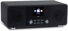 Streamo CD internetradio 2x10W WLAN DAB+ FM CD-player BT svart