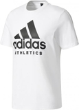 Adidas - Sport ID Branded men's training top (whit