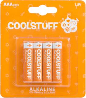 CoolStuff Batterier AAA Alkaline 4-pack