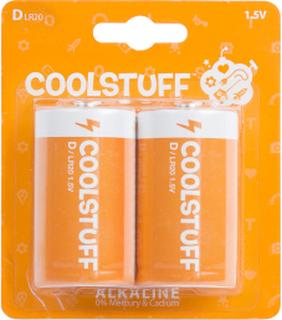CoolStuff Batterier D Alkaline 2-pack