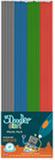 3Doodler Start-Plast Mix 2: Grå/Blå/Grön/Röd