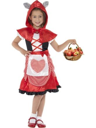 Röda Luvan Maskeraddräkt Barn Small