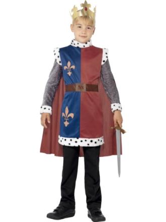 Kung Arthur Maskeraddräkt Barn Medium