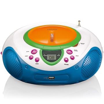 Lenco SCD-40 USB Kids Transportabel FM Radio - CD, WMA, MP3