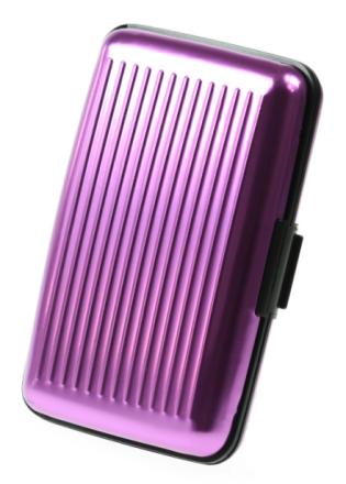 Metallplånbok Violett