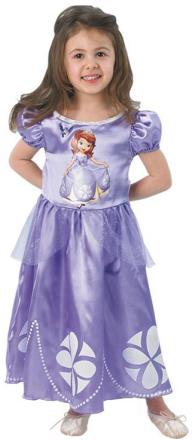 Prinsessan Sofia från Disney - Maskeraddräkt för barn 105 - 116 cm (5 - 6 år)