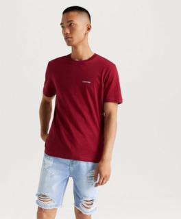 T-Shirt Cotton Chest Logo T-shirt