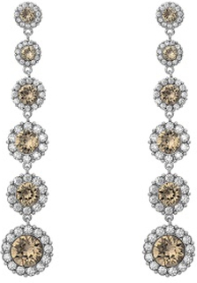 LILY AND ROSE Celeste Earrings Diamond Grey One size