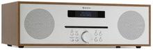 Silver Star CD-FM max 2x20W Slot-In CD-player FM BT aluminium brun