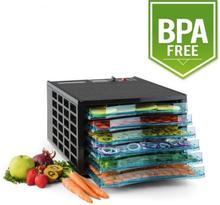 Fruit Jerky 6 torkningsautomat dehydrator 630W 6 nivåer BPA-fri