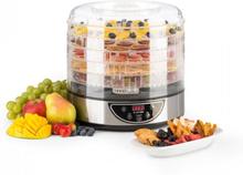 Fruitower D torkautomat 35-70°C timer 5 hyllor 200-240W Rostfritt stål
