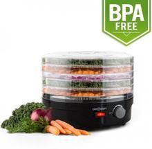 Bonsai Torkautomat 5 Nivåer Dehydrator 250 Watt svart