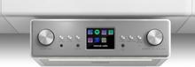 "Connect Soundchef Underliggande Köksradio Internet DAB+ UKW 2x3""-Högtalare Vit"