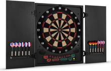Dartchamp Darttavla Elektronisk darttavla Softtip-design Svarta dörrar