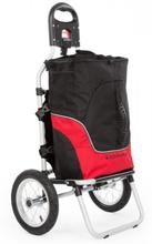 Carry Red cykelkärra hand-dragkärra max belastning 20 kg svart/röd