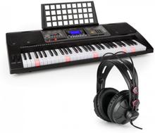 Etude 450 USB Inlärnings-keyboard med Hörlurar 61 Tangenter USB-MIDI-Player LCD