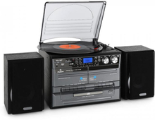 Stereoanläggning USB MP3 kassett CD skivspelare kodare