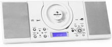MC-120 stereo MP3 CD-spelare USB vit
