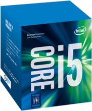 Core i5-7500 Kaby Lake CPU - 3.4 GHz - LGA1151 - 4 ydintä - Boxed