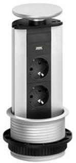 Evoline Powerport 2 stik + 1 usb charger