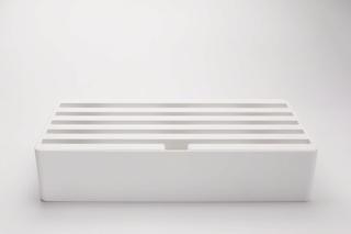 ALLDOCK 6 port ladestation, hvid/hvid, ABS-plast