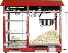 Popcornmaskine Professionel 1700W med display hylder