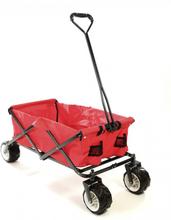 Trækvogn foldbar offroad - rød