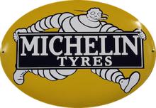 Emaljeskilt Michelin Tyres
