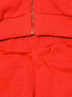 Moschino Kids logo printed tracksuit set - Red