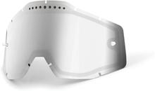 100% Vented Dual Vaihtolinssit, silver / mirror 2021 Ajolasitarvikkeet