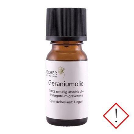 Geraniumolie æterisk, 10 ml