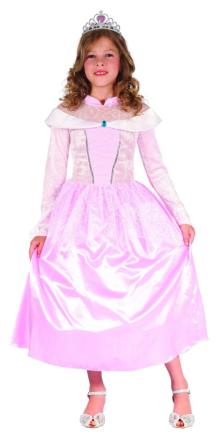 Rosa princessdräkt barn