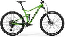 Merida One-Twenty 9. 400 grön/svart