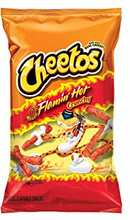 Cheetos Crunchy Flamin' Hot - Stor Pose