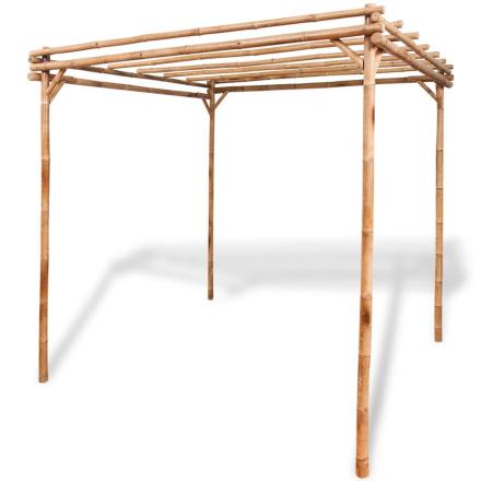 vidaXL pergola bambus 195 x 195 x 195 cm