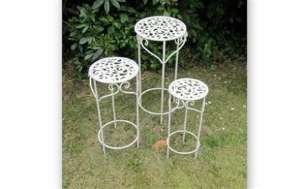 Cafemøbler - sæt af blomsteropsatser