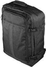 Deltaco kabin ryggsäck, 44 liter, bärhandtag, svart