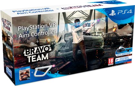 Bravo Team Aim Controller Bundle PS4 Krever PlayStation VR