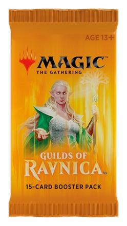 Magic The Gathering - Guilds of Ravnica 15-card booster pack