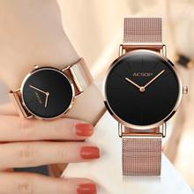 Quartz Ladies Watch Brand Luxury AESOP Women Watches Stainless Steel Rose Gold Watches Sport Wrist Watches relogio feminino 2018