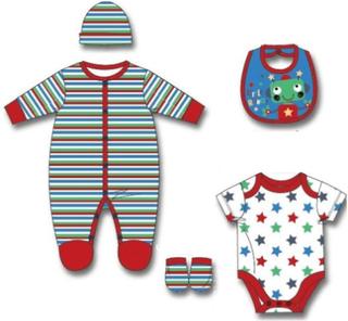 Unisex klädset - 5-delat barnkläder set 0-3 mån